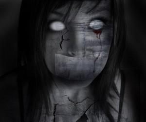 Женщина без глаз