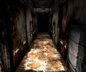 Призрак в заброшенной больнице