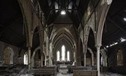 Страшная заброшенная церковь