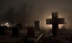 Фотография в гробу