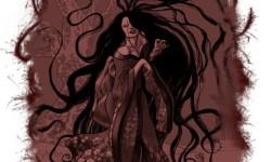 Длинноволосая женщина (Хари-Онаго)
