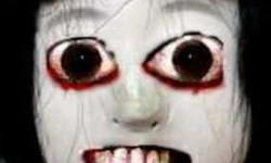 Призрак с белыми глазами