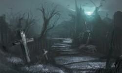 Ночь на кладбище